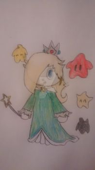 Rosalina and Lumas by superdes513