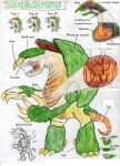 Hatchasaurus anatomy by killb94