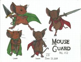 Mouse Guard-1 Marker by LimiTeD-Artist