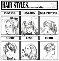 hair styles by xitl