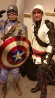 assassin and captain america by marty0x
