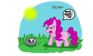 PinkiePie yelling at her pet by dillpickles12293