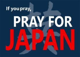 Pray For Japan by coloradogirl86