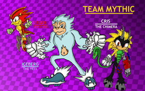 Sonic-verse Re-Draw: Team Mystic by Code-E