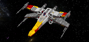 LEGO Star Wars - Sabine's Prototype X-Wing by Aryck-The-One
