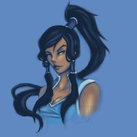Korra [slighly older] by Black-Strawbarrie