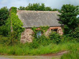 Old Farm Building 02.. by WelshDragonStockNArt