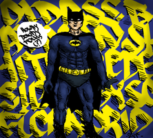 Batman (Old design and shitty drawn) by soficanorio
