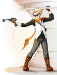 Commission: Dirk Strider by Risika93