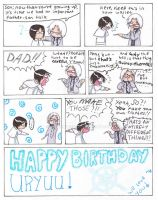 Quincy B-Day 1 day late by comixqueen