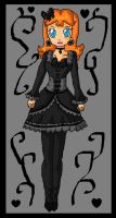 gothic daisy by ninpeachlover