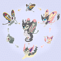 Pokemon Hexafusion by CrispyCh0colate