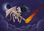 Thanatos in the Night Sky by Ulin207