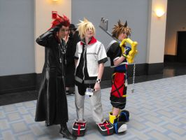 Kingdom Hearts Group by JadeKatana