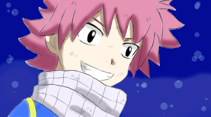 Natsu Dragneel by roby1383