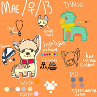Mae Ref by makeyour0wnluck