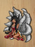 Ahri special commission by Cimenord