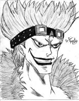 Eustass Kid Number Two by xboxjunkie77