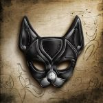 Cat Mask_2 of 4 by coalcracker