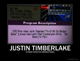 Justin Timberlake Motivational by psyco-fangirl-attack