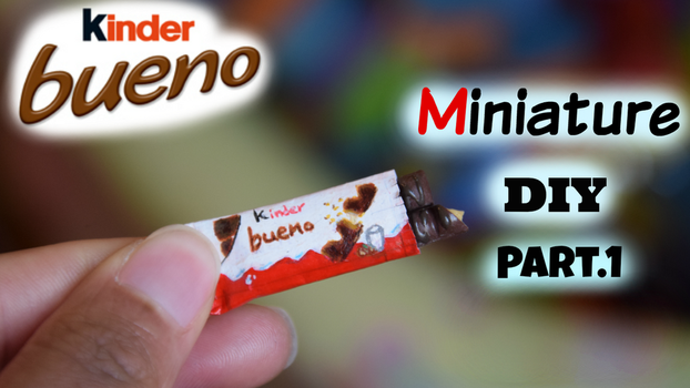Mini KINDER BUENO Tutorial by Manilaicee