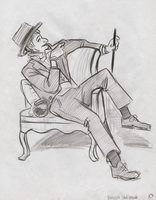 Lifedrawing: Suave by ph00