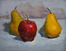 apple and pears by BClary