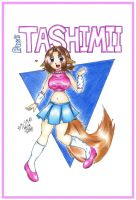 PAW Art Trade - Tashimii by fumetarusonikku