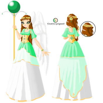 goddess of hope front and back by Beatrice-Dragon-Team