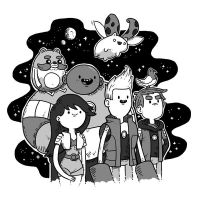 Bravest Warriors - Space Adventurers by laurenzloehr