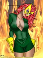 Jean Grey Marvel Girl Daikon by powerbook125