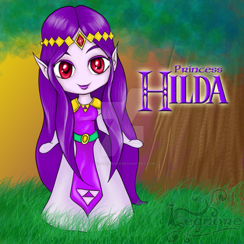 Chibi Princess Hilda of Lorule by Lost-Leanore