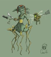 murderers of the flies by GrayH
