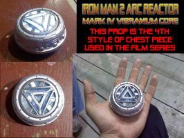 Iron Man 2 arc reactor prop by ajb3art