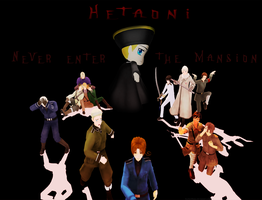 HetaOni Title Screen by ItachiXShana