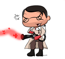 At Medic chibi by ChicaSuperKiller