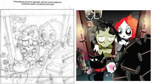 Ruby Gloom- Original sketch 02 by MHSU