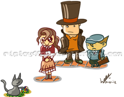 Professor Layton - Another puzzle by ripley4O77