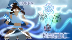 Magic - Avatar Korra by MountainLygon