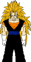 Preview Vegetto SSJ3 color by Dairon11