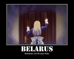 Hetalia: Belarus Motivational Poster by GothicPrincess137