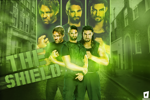 The Shield Wallpaper by Omarison