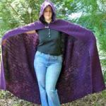 Crocheted Full Length Cloak by 2CrochetHooks