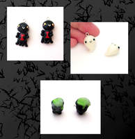 Halloween Charms by SeaOfCreations