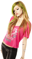 Avril Lavigne  PNG by Martiih
