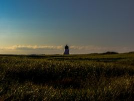 Beach Point Lighthouse at a Distance by aydonis