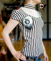 steampunk top by zeloco