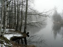 Misty River by OldEric