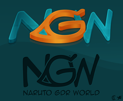 NGW | Naruto GDR World's logo by cioue