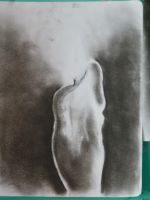 Charcoal Study 3-- Candle by ThePaintedLady143